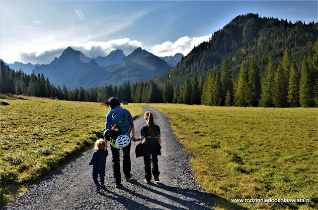 Tatry z dziećmi- Dolina Białej Wody (Bielovodská Dolina)