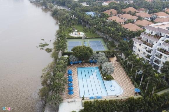 Biệt thự ở Thảo Điền bịt kín lối ra bờ sông Sài Gòn ảnh 5