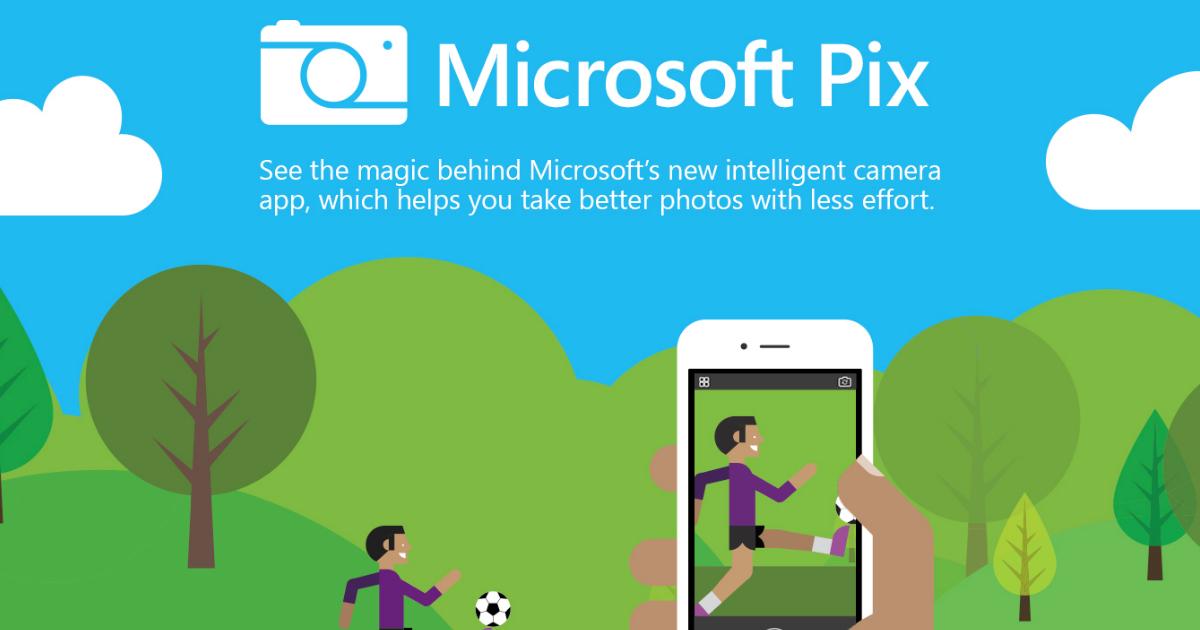 Microsoft Pix 微軟相機用聰明拍照取代 iPhone 相機