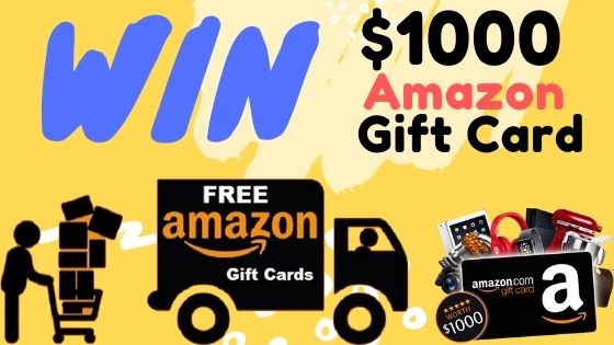 """How to win """"$1000 Amazon Gift Card"""" is reserved for you."""