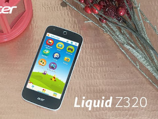 Acer Liquid Z320, Ponsel Android Sahabat Anak Dambaan Ibu