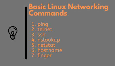 basic Linux networking commands for beginners
