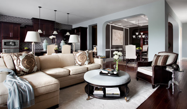 New Home Interior Design: Modern Traditional