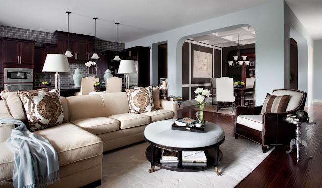 New Home Interior Design: Modern Traditional
