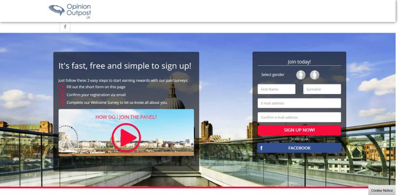 Opinion Outpost is another online survey filling website you can fill online surveys for money.