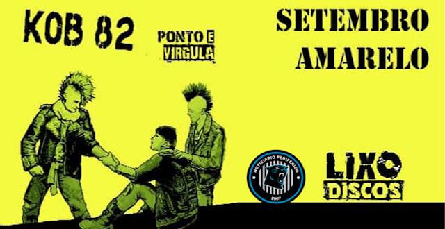 #Dialogando - Kob 82 apresenta o single Suicida/Ponto e vírgula.
