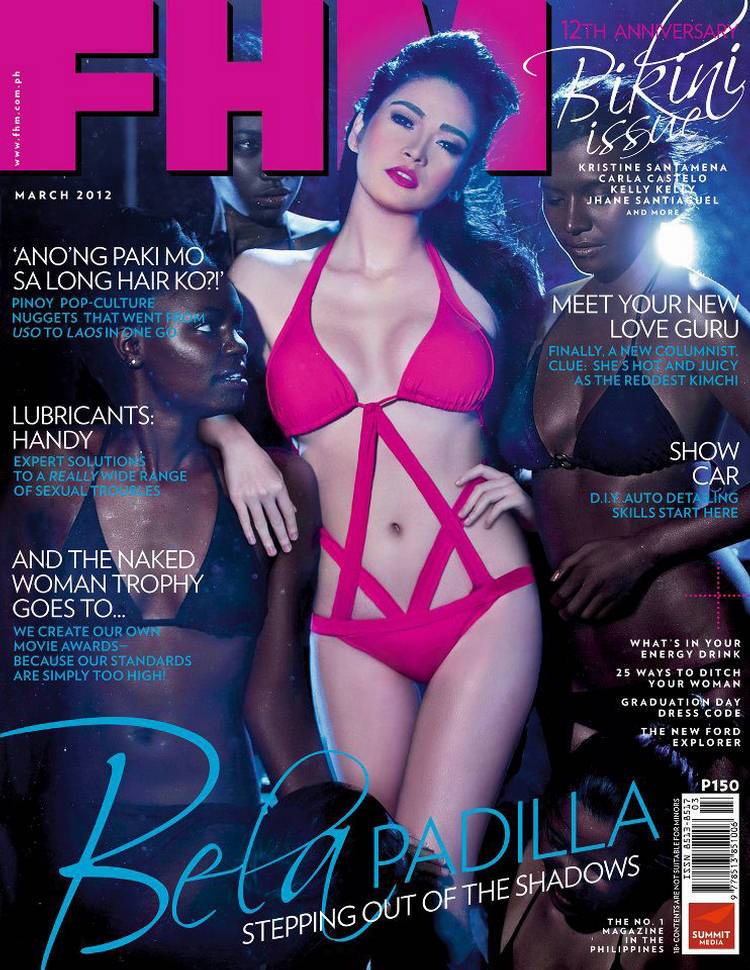Sexy Bela Padilla Fhm Philippines March 2012 - Where -1285
