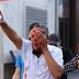 Alheio ao protesto, homem atingido por bala de borracha perde a visão