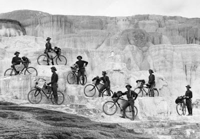 Buffalo Soldiers on Bicycles in the Yellowstone