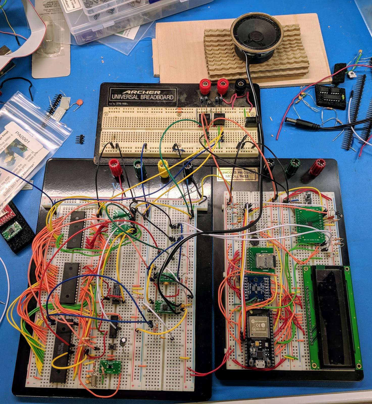 Hec Geek Building The Nestronic Prototype Part 3 Breadboards Are Used To Electronic Circuits Without Having Breadboard