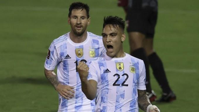 Argentina en fútbol se hace del triunfo