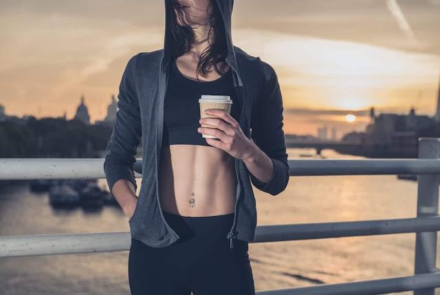 café antes de entrenar
