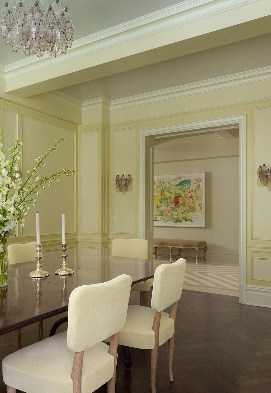 Décor Inspiration: A Modern & Sophisticated Park Avenue Apartment