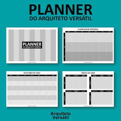 Planner do Arquiteto Versátil