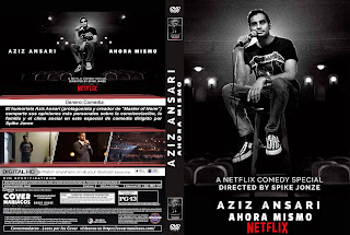AZIZ ANSARI: RIGHT NOW – AZIZ ANSARI: AHORA MISMO – 2019 [COVER – DVD]
