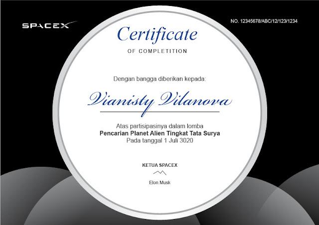 sertifikat hitam silver