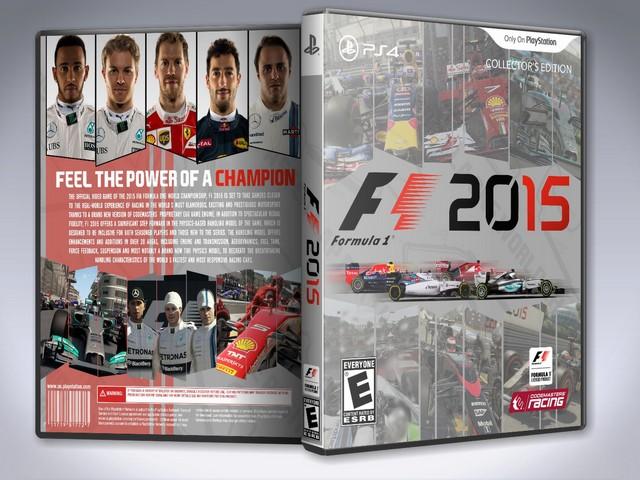 Capa F1 2015 PS4