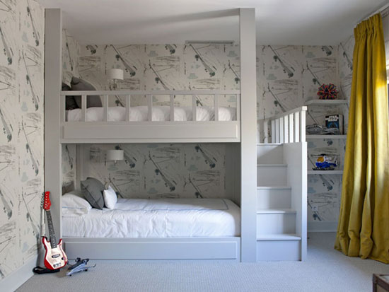 amazing boys bedroom bunk beds | mommo design: 8 COOL BUNK BEDS