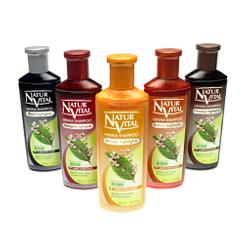 Deepbrown Kinks Natur Vital Henna Shampoo