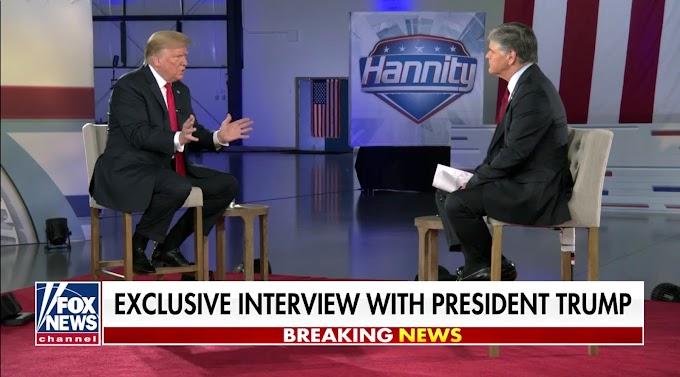 Will Sean Hannity finally turn on Trump?