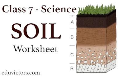 CBSE Class 7 - Science - Soil (Worksheet)(#eduvictors)(#class7Science)