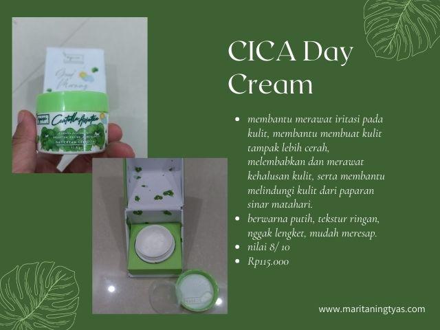 centella asiatica series day cream npure