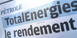 action TotalEnergies dividende 2021