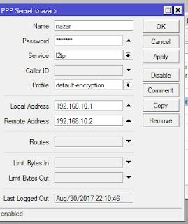 Mikrotik - Setting VPN L2TP Server & Client in Win 8 1 | Muhammad