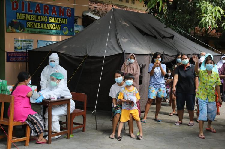 Program Vaksinasi Booster di Jateng Gunakan Vaksin Moderna