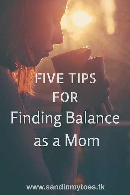 Five tips to help you find the right balance between being a parent and and making time for yourself.