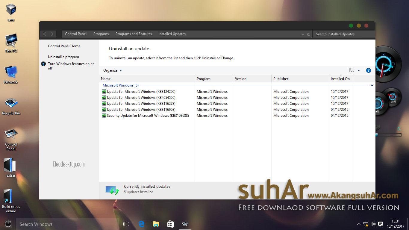 Free download Windows 10 Gamer Edition Evolution 2017 Latest version