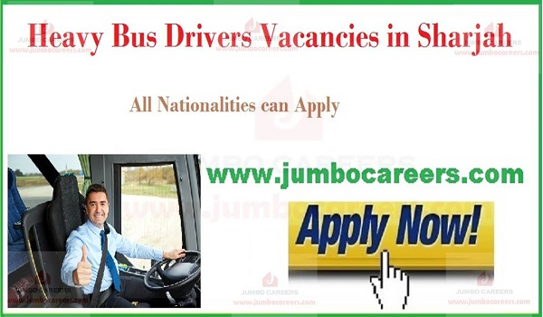 Available job openings in UAE, Current Driver jobs in Sharjah,