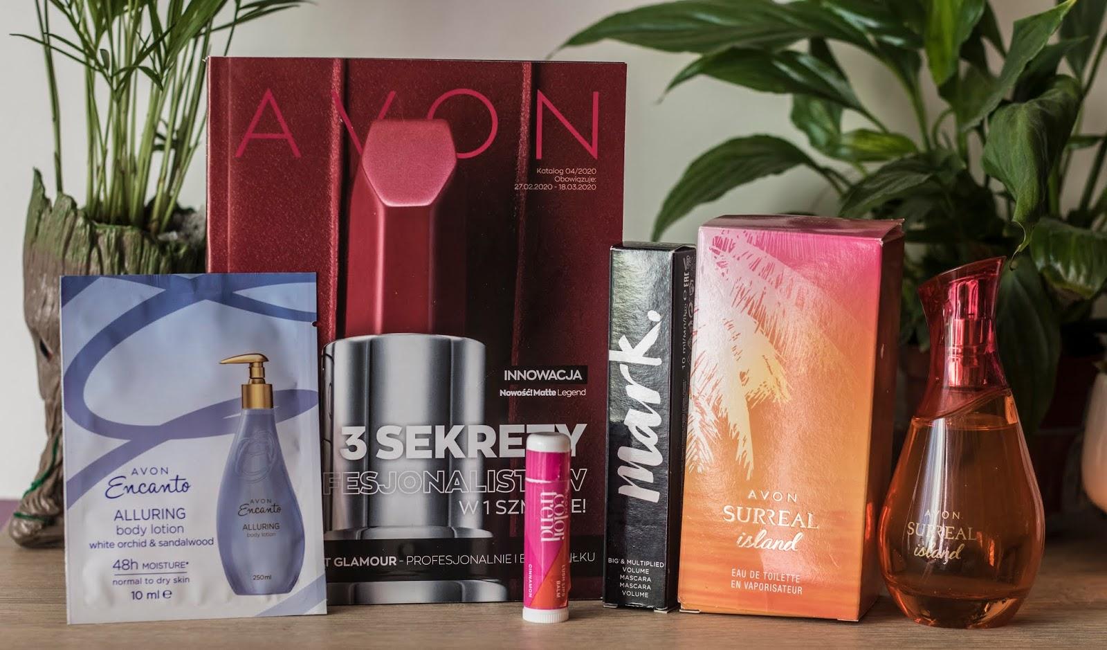 Kilka kosmetyków od Avon