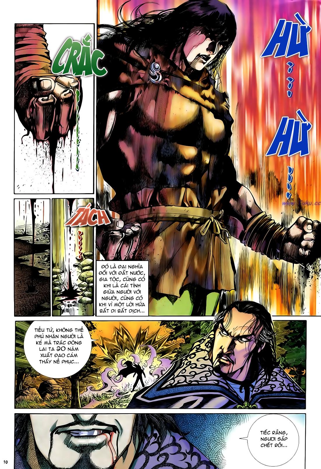 Anh hùng vô lệ Chap 29 trang 11