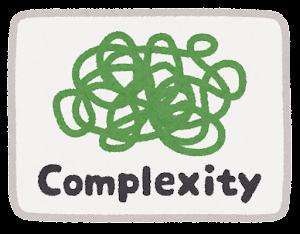 VUCAのマーク(Complexity)