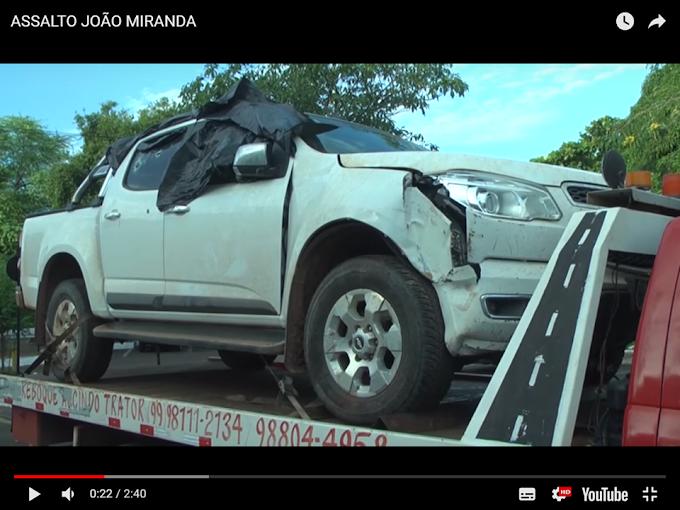 VÍDEO - Presos 4 suspeitos de assaltar empresário em Caxias