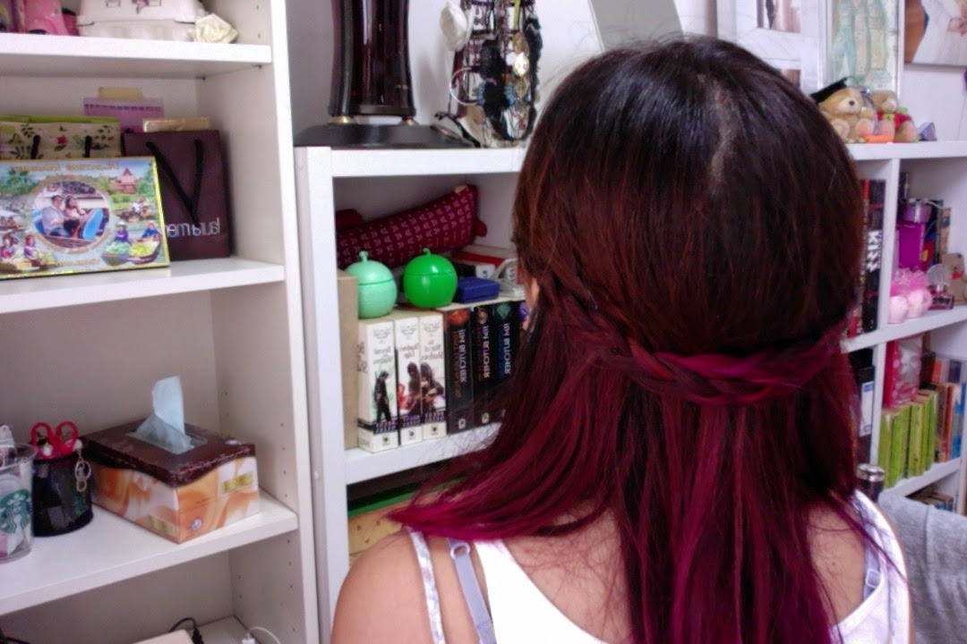 Will Ombre Pink Red Or Purple Hair Dye Fade After 1 Week