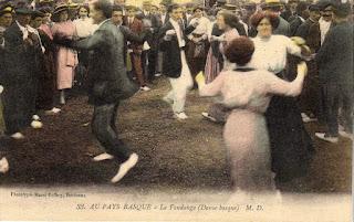 danse basque autrefois