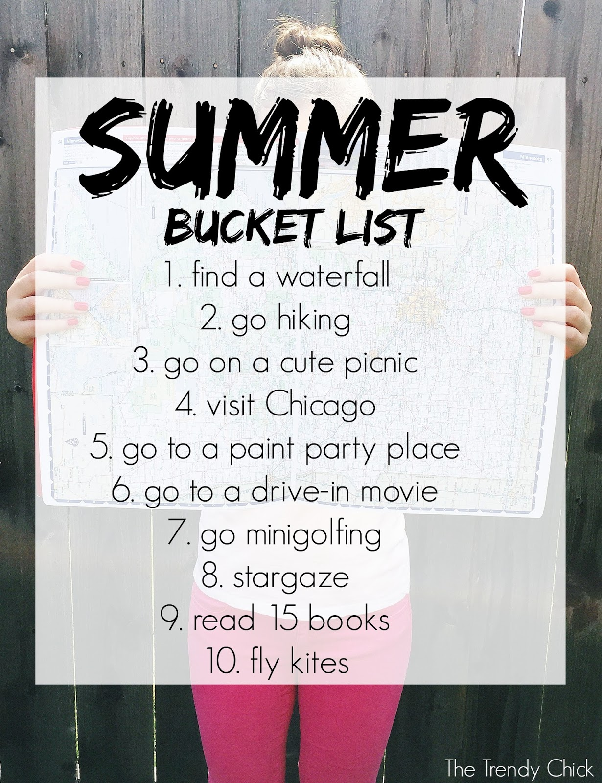 Summer Bucket List 2016