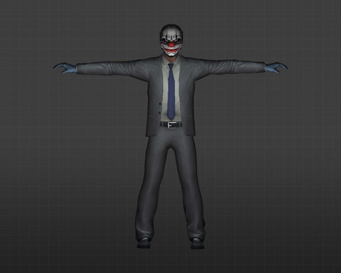 Pack Skins Players - PayDay
