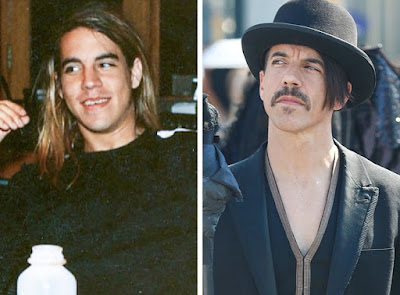 1. Anthony Kiedis, do Red Hot Chili Peppers