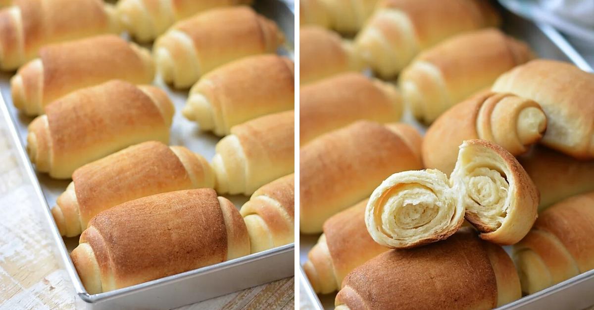 Самые удачные пуховые булочки: простое тесто, которое дает сумасшедший подъем