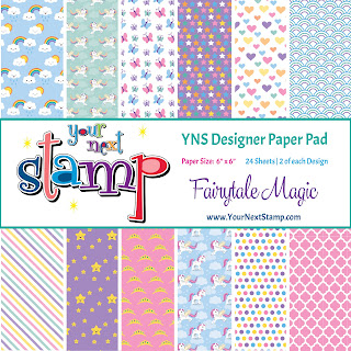 Designer Paper Pad Fairytale Magic