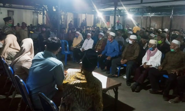 Kediaman IDP Makin Ramai Didatangi Warga Masyarakat