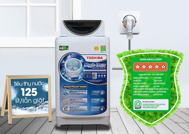 Máy giặt Toshiba 8.2kg AW-MF920LV WK