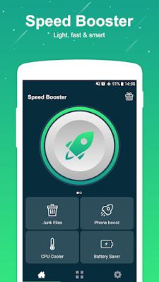 تطبيق Speed Booster - Cleaner مهكر للأندرويد, تطبيق Speed Booster - Cleaner كامل للأندرويد