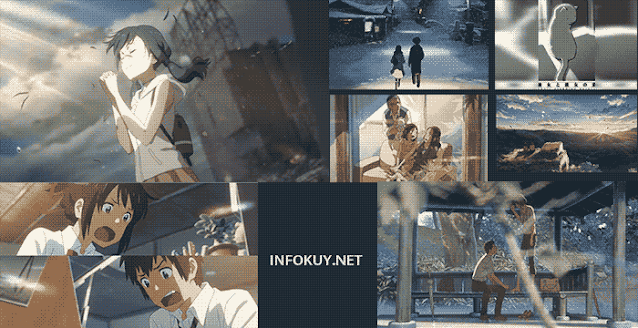 7 Film Makoto Shinkai Yang Bikin Kamu Sedih dan Baper