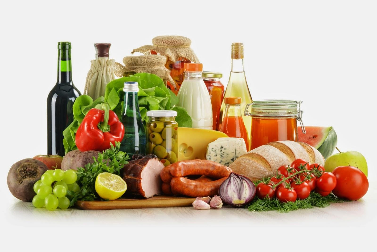 Alimentos de dieta balanceada