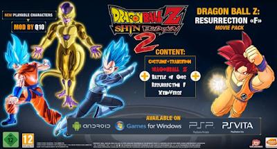 Dragon Ball Z SHIN BUDOKAI 2 Mod FUKKATSU PPSSPP Terbaru