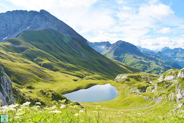 Lago Monzabonsee en Austria